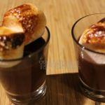 PETITES CREMES CORSEES CHOCOLAT GUIMAUVE