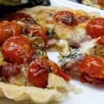 tartelette Saint Nectaire tomates cerise
