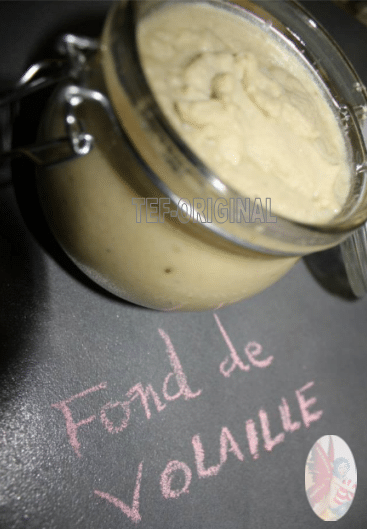 Thermomix, fond de volaille