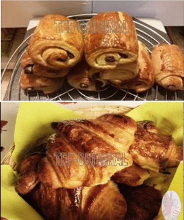 croissants et pains au chocolat au thermomix