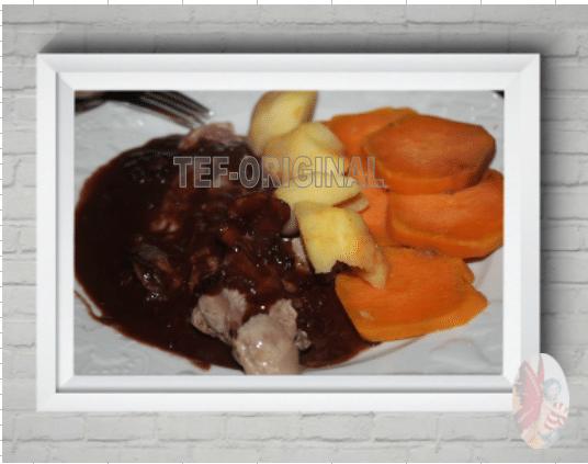 canard sauce au vin et chocolat thermomix
