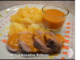 filet mignon de porc et ses pommes de terre sauce pineau des charentes thermomix