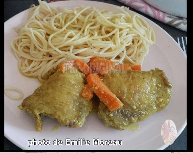 poulet coco a l'indienne au themomix