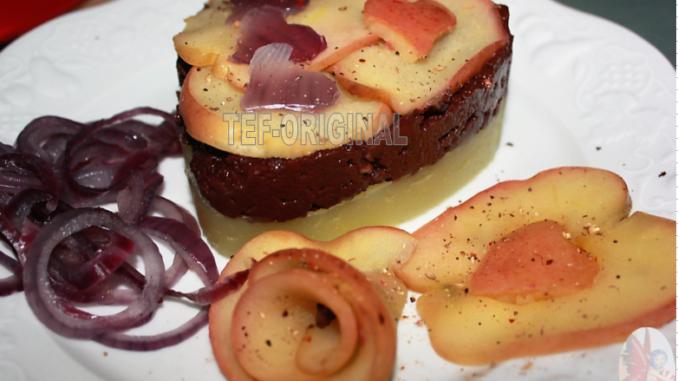 boudin aux pommes très glamour thermomix