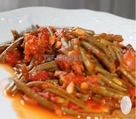 haricots verts; tomate: tm31; tm5 thermomix