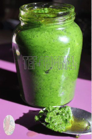pesto a l'ail des ours thermomix