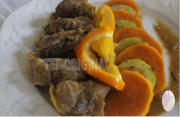 canard a l'orange thermomix