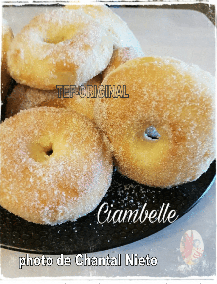 Ciambelles beignets italiens au thermomix