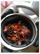 panier cuisson prêt pour cuire le bourguignon