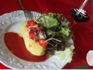 pommes de terre farcies aux saveurs de romarin