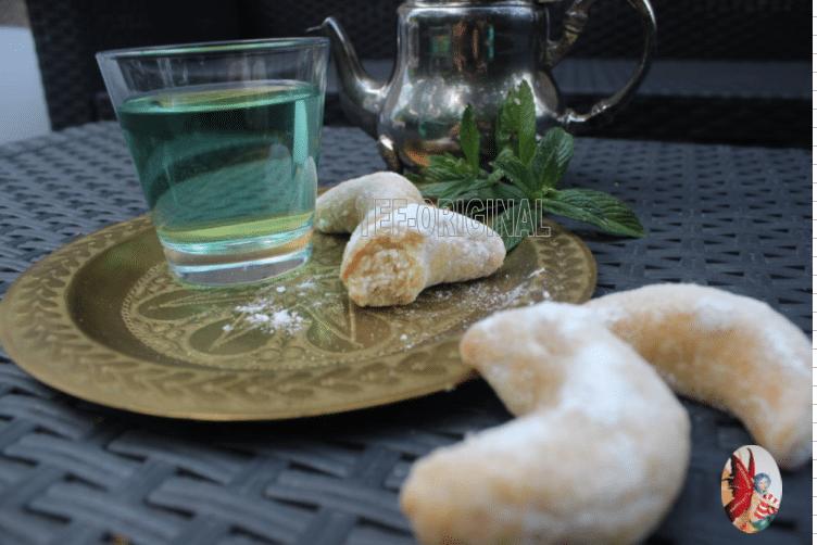 croissants de lune ou corne de gazelle au thermomix