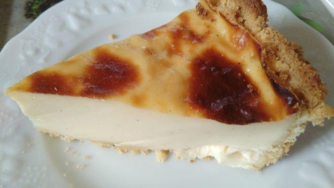 le flan pâtissier (ou tarte au flan) + version sans pâte