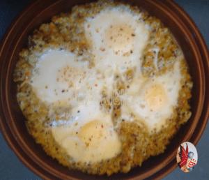 oeufs cocotte quinoa potimarron