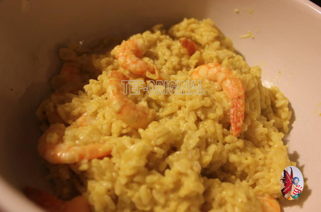 risotto crevettes au curry thermomix