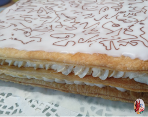 mille feuilles Thermomix Diplomate vanille tonka