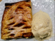 jalousie aux pommes et glace vanille tonka au thermomix