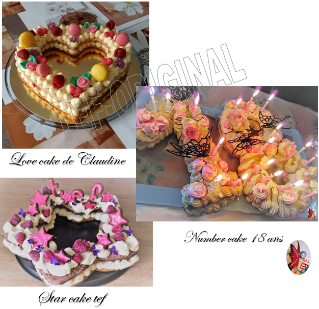 letter cake et number cake au thermomix