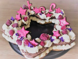 star-cake glacé number cake thermomix