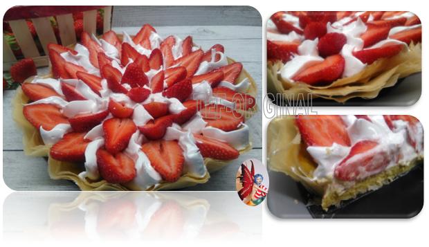 tarte aux fraises pistachée thermomix