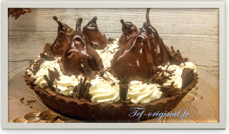 tarte ultime chocolat poire thermomix