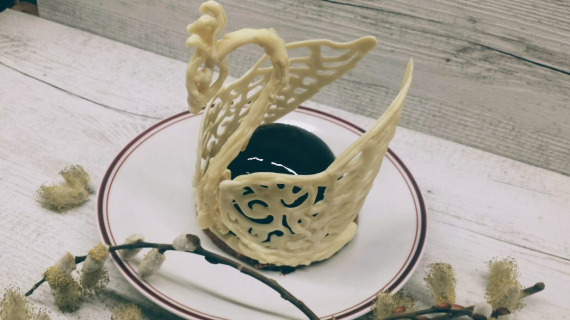 Black and whight swans au thermomix