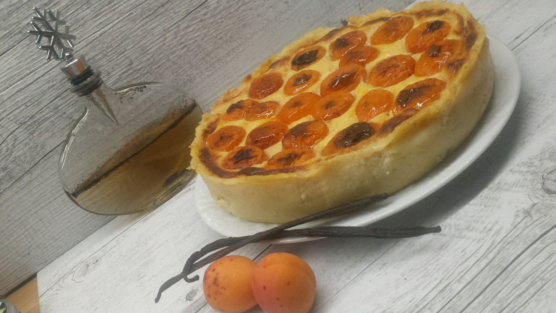 flan pâtissier vanille abricot au thermomix