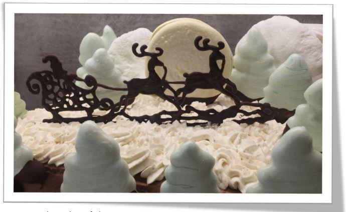 Gâteau de Noel au thermomix