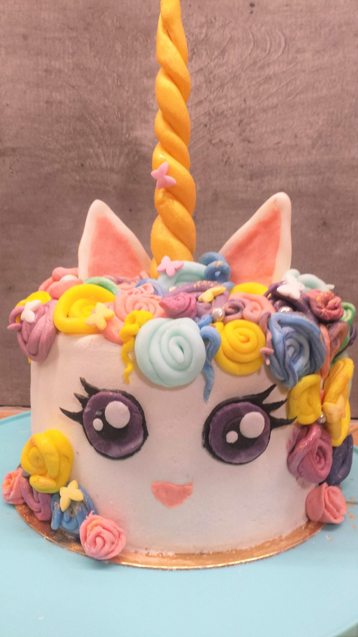 gâteau licorne au thermomix